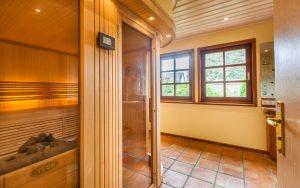 Sauna und Bad