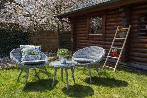 Sitze Garten